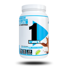 Load image into Gallery viewer, XCD Nutrition - 1Whey Protein Advanced Whey Protein 100% Isolate WPI -ProHydrolase Digestive Enzymes - Sweetened with STEVIA
