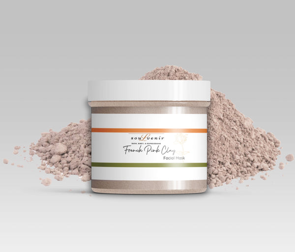 French Rose Clay  Facial Mask