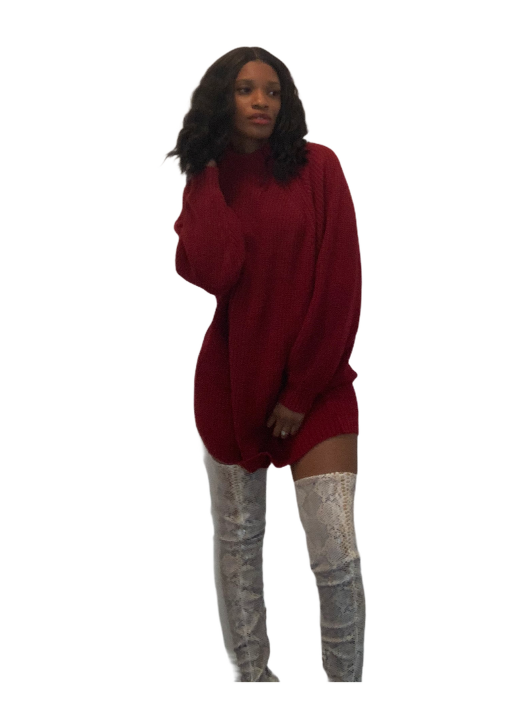 Lauren Oversized Sweater Dress