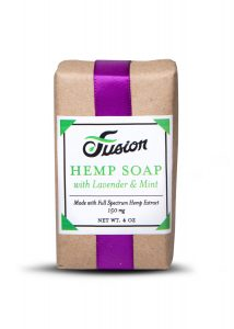 CBD Hemp Soap Lavender Mint