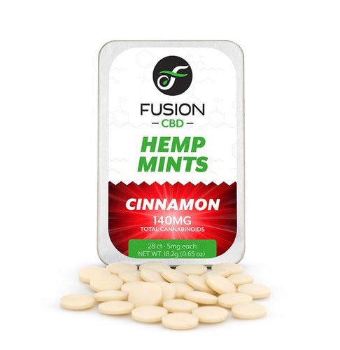 CBD Hemp Mints Cinnamon