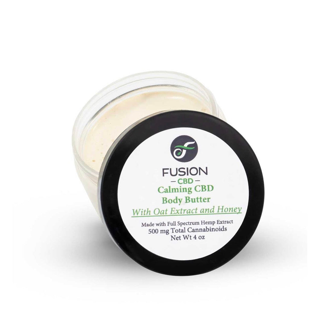 500mg Body Butter With Oat Extract and Honey