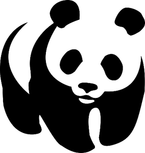 PANDA Vinyl Decal-Fun Fare Decals