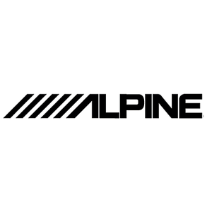 2x Alpine Die Cut Vinyl Decal