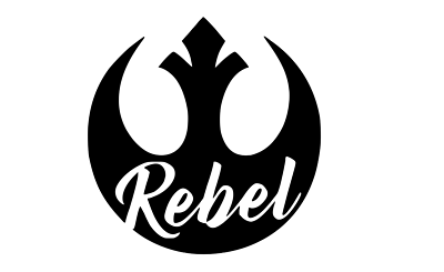 Star Wars Rebel Alliance decal-Fun Fare Decals