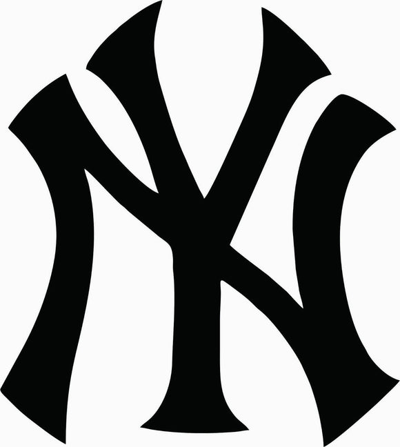 New York Yankees Die cut Vinyl Decal