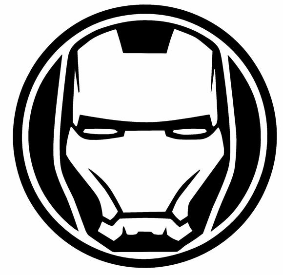 IRON MAN Vinyl Decal-Fun Fare Decals