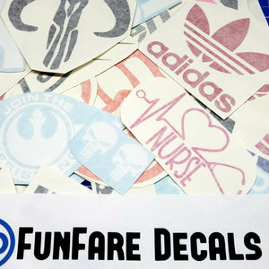15pcs Vinyl Decal Grab Bag