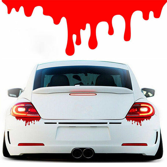 2x Bleeding Vinyl Decal