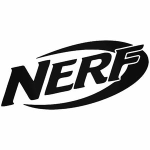 NERF Die Cut Decal
