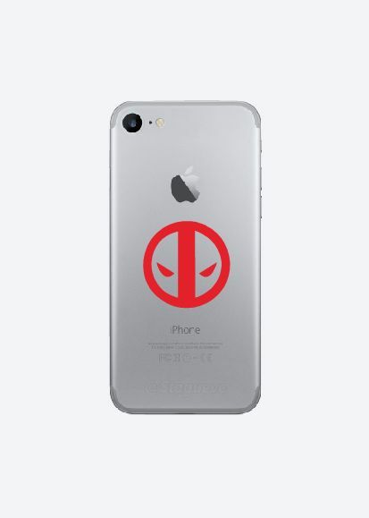 3x Deadpool cell phone Vinyl Decal