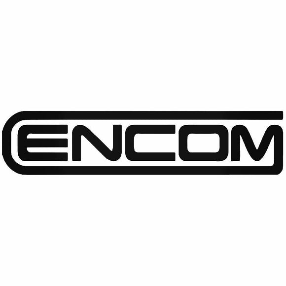 (2x) Tron ENCOM Die Cut Decal