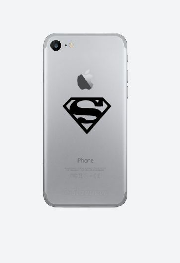 3x Superman cell phone Vinyl Decal-Fun Fare Decals
