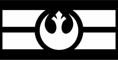 Star Wars Rebel Alliance Flag Sticker-Fun Fare Decals