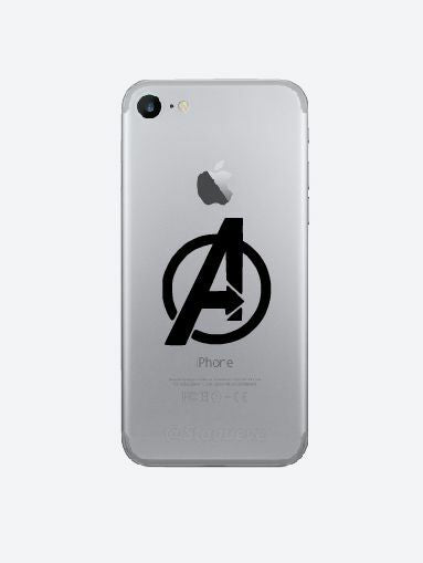 3x Avengers cell phone Vinyl Decal