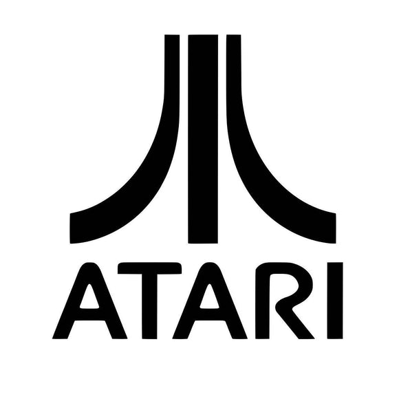 Atari Logo Vinyl Decal-Fun Fare Decals