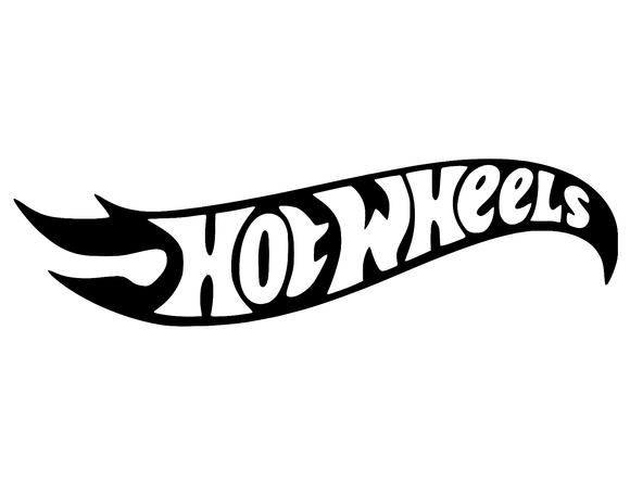 Hot Wheels Vinyl Decal Sticker Car Vehicle Window Wall Graphic Racing Race-Fun Fare Decals