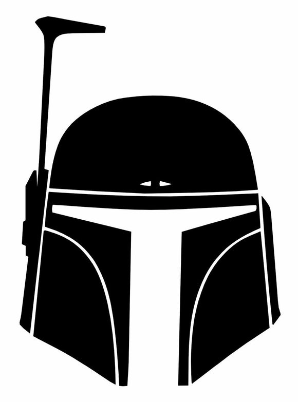 Star Wars Boba Fett Vinyl Decal-Fun Fare Decals