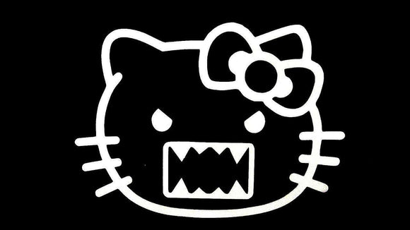 Hello Kitty DOMO KUN die cut vinyl decal