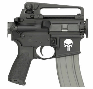 PUNISHER X2 AR15 Magwell decal-Fun Fare Decals