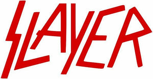 Slayer Vinyl Die Cut Decal-Fun Fare Decals