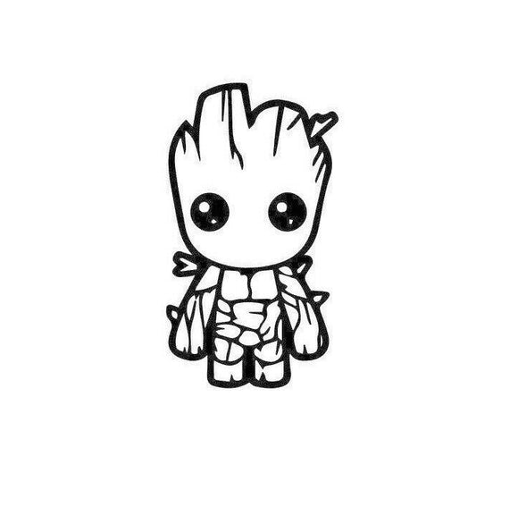 I am Groot Baby-Fun Fare Decals