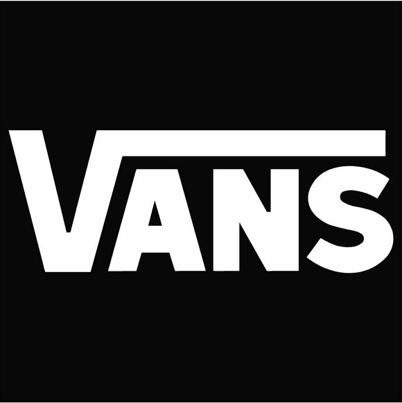 Vans Vinyl Window Decal Sticker Surf Snow Skate Board Shoes Clothing X Games
