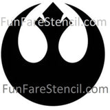 Star Wars REBEL Alliance Die Cut Vinyl Decal-Fun Fare Decals