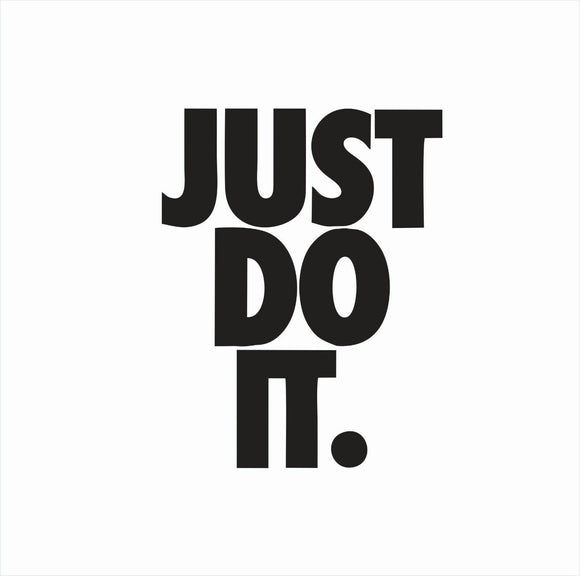 Just Do It Nike Die Cut Vinyl Decal