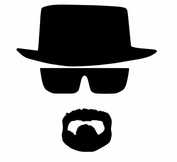 Heisenberg Vinyl Decal-Fun Fare Decals