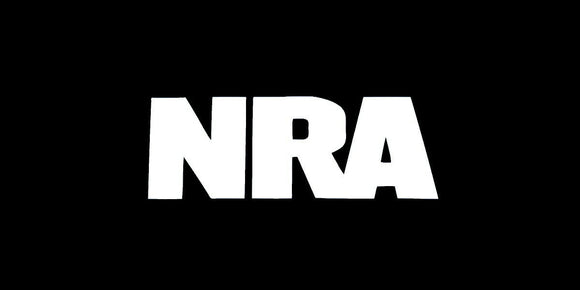 NRA Sticker Vinyl Decal Gun Rights 2nd Amendment 3% Rifle Hunting Car Window-Fun Fare Decals