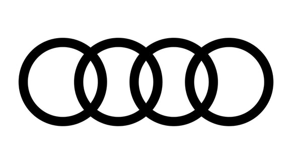 Audi Rings Logo Vinyl Decal
