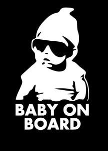 Baby on board Vinyl decal-Fun Fare Decals