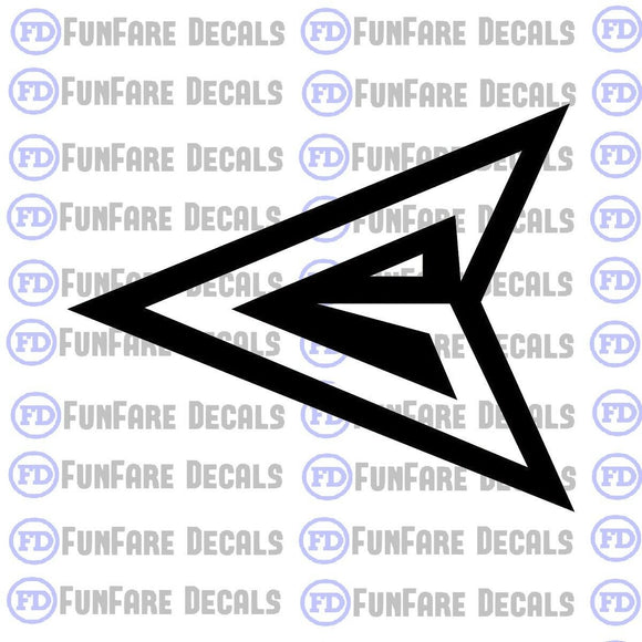 Green Arrow Vinyl Decal-Fun Fare Decals