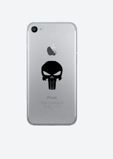 3x Punisher cell phone Vinyl Decal-Fun Fare Decals