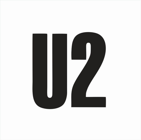U2 Die Cut Vinyl Decal-Fun Fare Decals