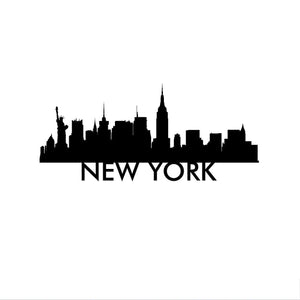 New York City Vinyl Decal-Fun Fare Decals
