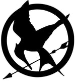 Hunger Games MOCKINGJAY vinyl decal-Fun Fare Decals