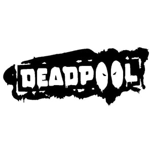Deadpool Vinyl Decal Car Truck Window Sticker Comic Superhero Marvel Blood Funny-Fun Fare Decals