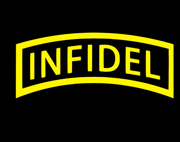 Infidel Sticker Die Cut Decal-Fun Fare Decals