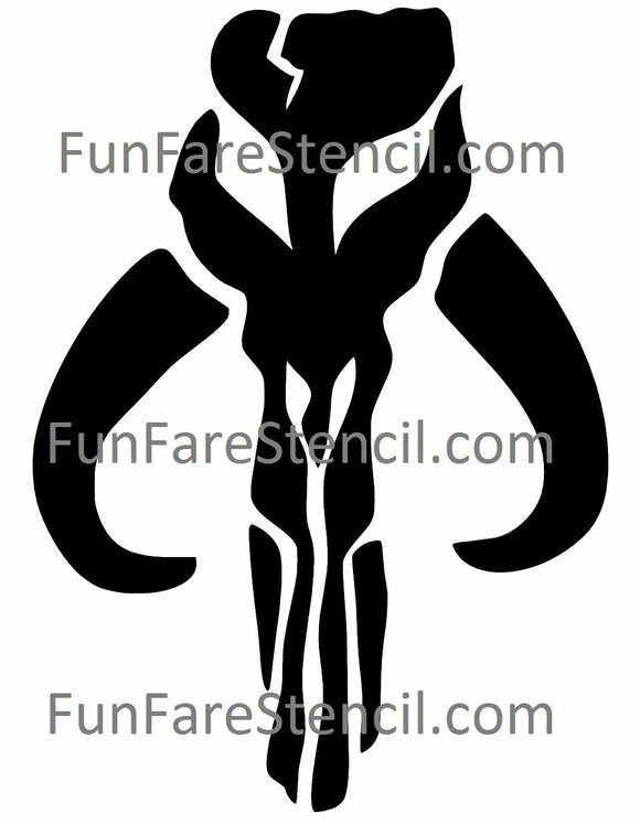 Star Wars Boba Fett Mandalorian BANTHA Sticker Vinyl Decal window laptop Oracal-Fun Fare Decals