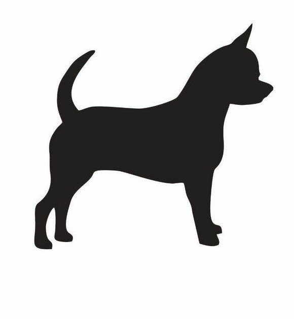 Chihuahua Dog Vinyl Decal