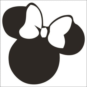 Minnie Mouse Vinyl Decal-Fun Fare Decals