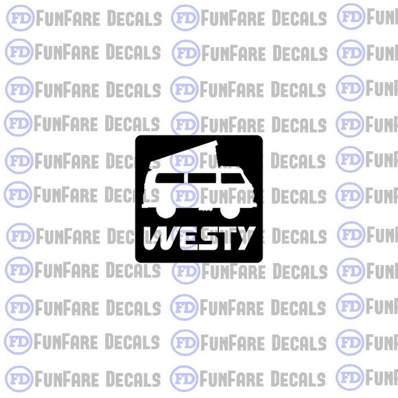Westy Vinyl Decal