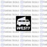 Westy Vinyl Decal-Fun Fare Decals