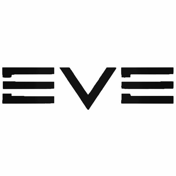 EVE Die Cut Vinyl Decal-Fun Fare Decals