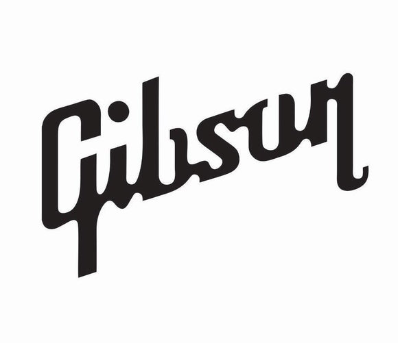 Gibson Guitar Vintage Style Vinyl Decal-Fun Fare Decals