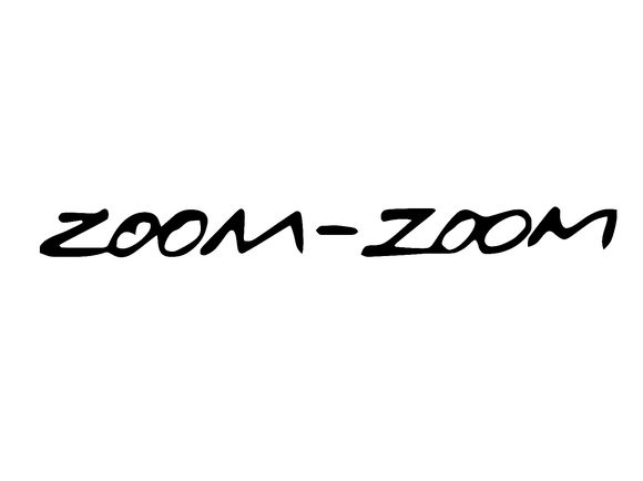 Zoom Zoom Sticker Decal-Fun Fare Decals