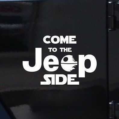 COME TO THE JEEP SIDE-Fun Fare Decals