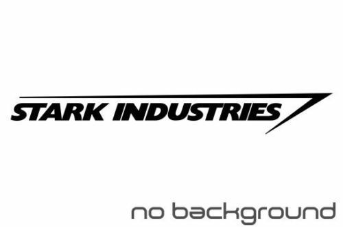 (2x) Stark Industries Sticker Vinyl Decal-Fun Fare Decals
